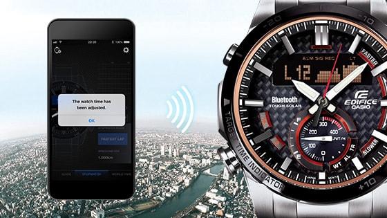 Ecb 800 Smartphone Link Edifice Mens Watches Casio